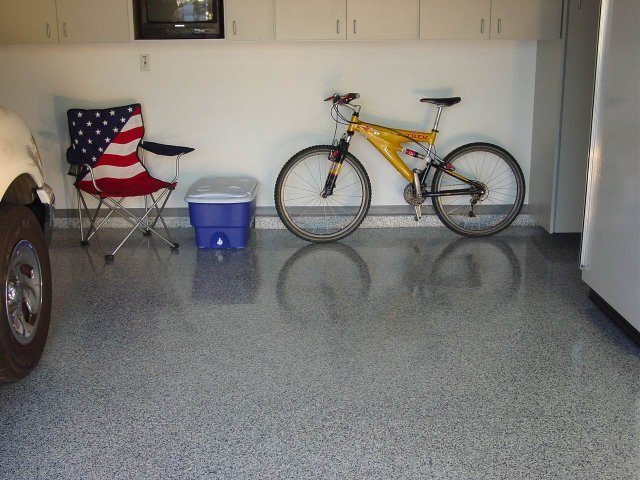 Epoxy garage flooring Atlanta