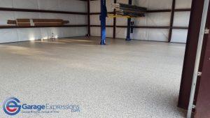Epoxy floor rydell shop