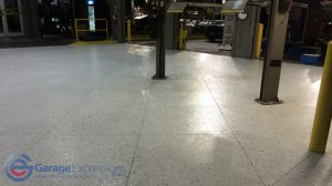 Dunwoody garage floor epoxy