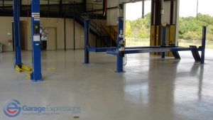 Sugar Hill garage floor epoxy